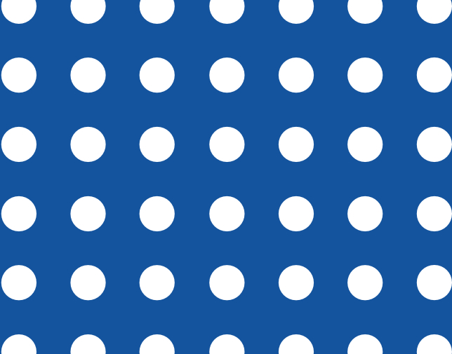 Square pitch - Circular holes