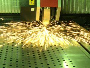 CS Fabrications Cutting Metal