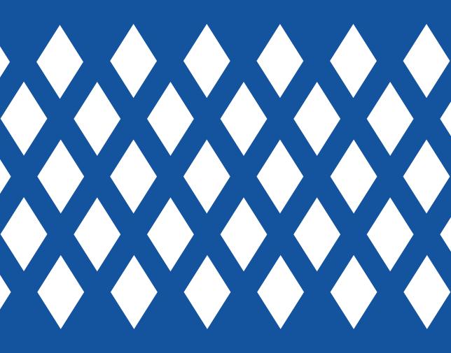 Diamond holes - Diamond pattern